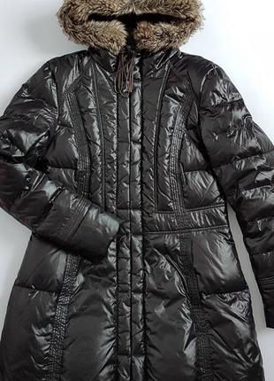 Куртка пальто пуховик maddison розмір 42