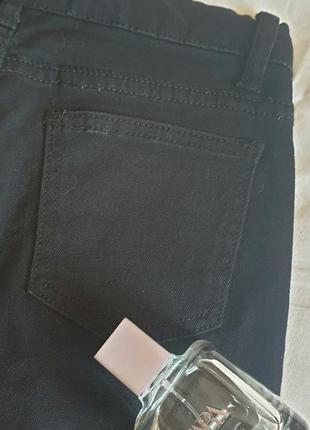 Рваные джинсы-скинни с высокой посадкой4 фото