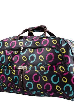Дорожная сумка большая на 2-х колесах hongsenniao det1901l-13 черный