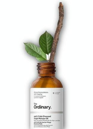 The ordinary - 100% cold-pressed virgin marula oil  масло из фруктового дерева марула