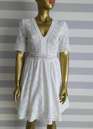 Платье-хит от h&m из прошвы кружево ришелье