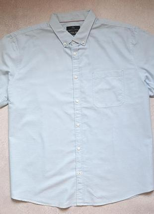 Мужская рубашка с коротким рукавом c&a