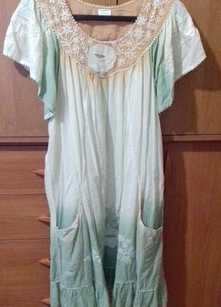 Платье невесомое в стиле бохо