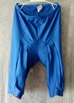 Велотрусы велошорты италия синие анатомического покроя размер s