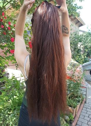 Хвост накладка парик 65 см