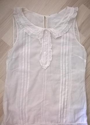 Нежная  блуза chloe,оригинал,шелк 100%