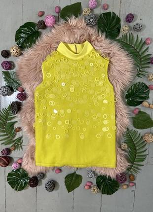 Актуальная яркая блуза топ №47