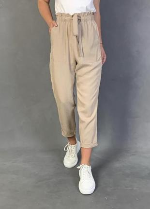 Трендовые штанишки из лиоцела