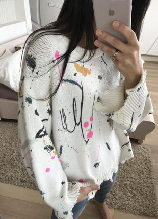 Офигенный свитер от zara