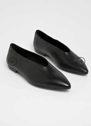Туфли кожаные стильные модные vagabond размер 38