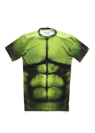 Under armour avengers hulk компресійна футболка для занять спортом