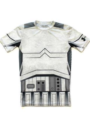 Under armour star wars компресійна футболка для занять спортом