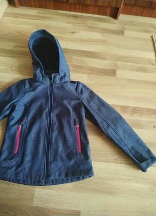 Куртка для дівчинки на ріст152
