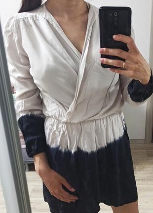 Рубашка пляжная  блуза градиент