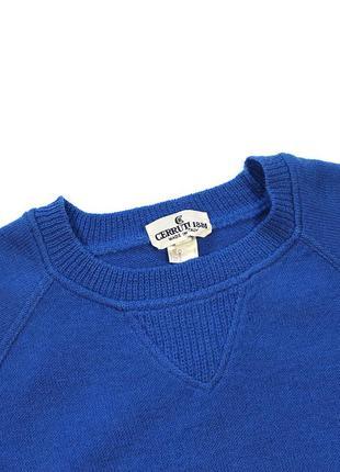 Cerruti 1881 вінтажний шерстяний светр
