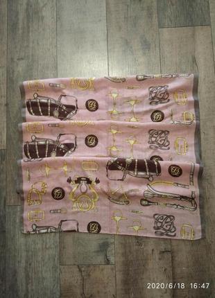 Платок шарф шаль louis quatorze франция .