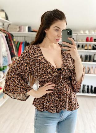 Блуза в цветочный принт primark