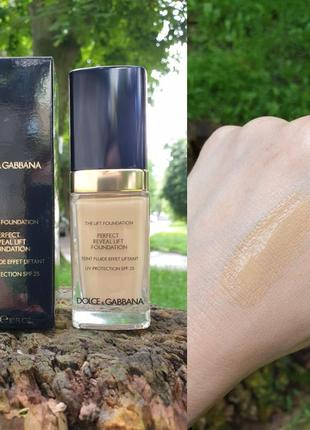 Тональний крем з ефектом ліфтингу dolce&gabbana the lift foundation