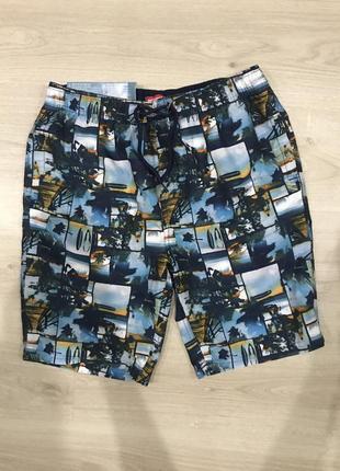 Фирменные шорты / германия \ пляжные шорты на 13-14 лет
