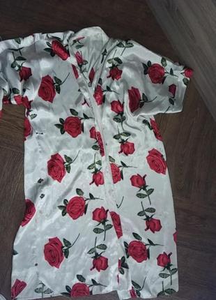 Халатик и платье- маечка