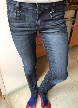 Джинсы женские g-star w28 l32 узкие джинсы slim skinny узкачи