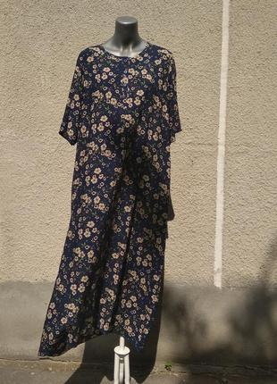 Плаття oversize з віскози shalaj