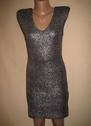 Платье с блестками forever 21 р-рм.
