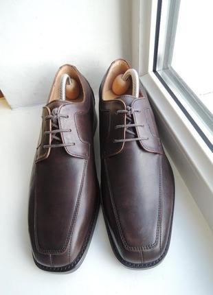 Кожаные туфли yarloks р.40