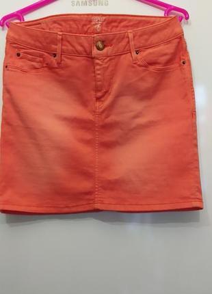 Джинсовая юбка бренда esprit