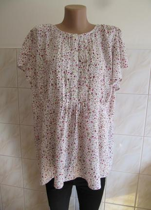 Красивая цветочная блуза от george