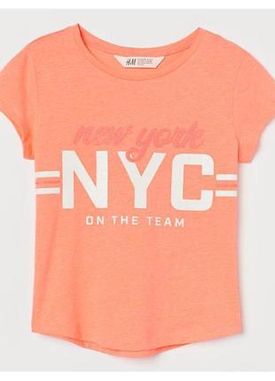 H&m футболка на девочку на 10-12 лет