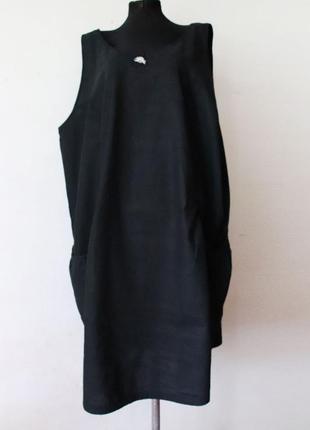 Платье большой размер лен хлопок германия