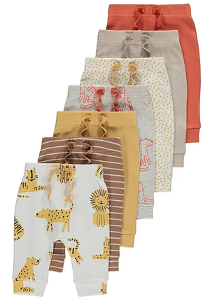 Хлопковые тоненькие штанишки george на 12-18 и 18-24 месяца