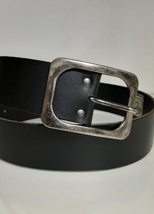 Крутой кожаный  широкий ( 5 см) ремень, пояс коричневый голландия