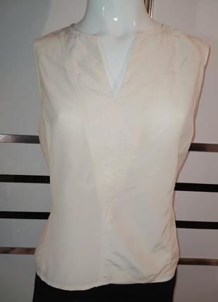 Шелковая блуза топ шёлк шовк