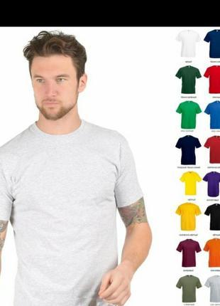 Хлопковая футболка принт