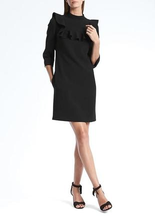 То самое самое little black dress banana republic с воланом