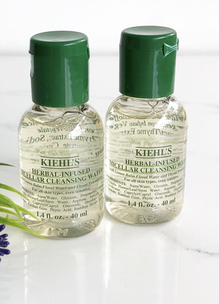 Мицеллярная вода c травами, kiehl's, herbal-infused micellar cleansing water