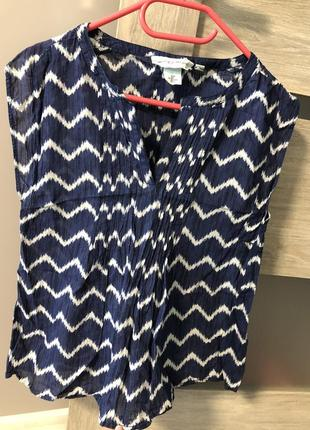 Легкая летняя кофточка блузка блуза майка футболка