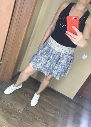 Легкая летняя интересная юбка