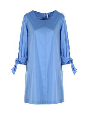 Платье голубое империал