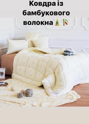 Ковдра із натурального бамбукового волокна, фірма шем! 145х210