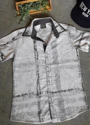 Дитяча літня сорочка на 8 років 🎁 1+1=3