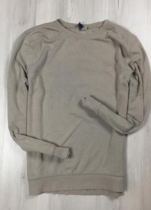 F8 серый свитшот h&m кофта