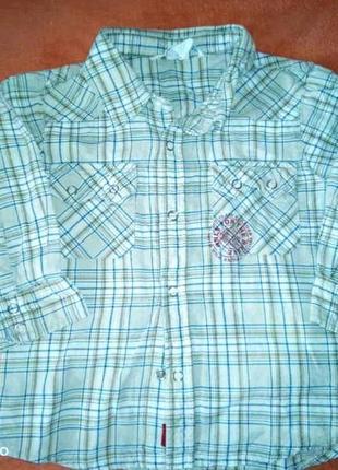 Рубашка для мальчика с принтом