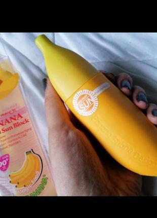 Солнцезащитный крем spf 90, крем банан