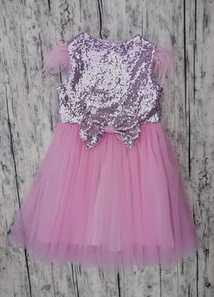 Красивое нежное платье размер 104
