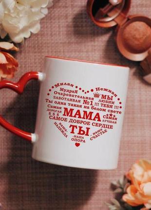 Чашка на подарок маме