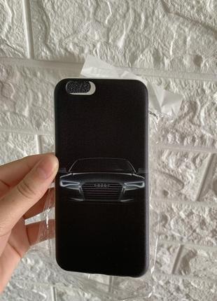 Новый силиконовый чехол на айфон 6s