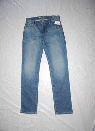 Р. 152-158-164 оригинал! утепленные джинсы двунитка gap
